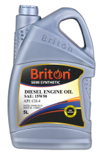 BRITON DIESEL ENG OIL SEMI SYNTHETIC 15W50