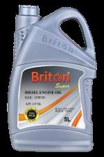 15w50 Diesel engine oil Briton Super 5L