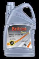 BRITON DIESEL ENG OIL VIRGIN SAE30