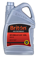 iso 22 hydraulic oil High Performance Red 5L